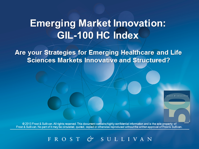 Emerging Market Strategy Necessary for Healthcare and Life Sciences
