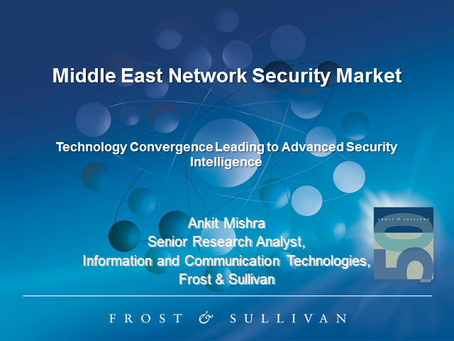 Analysis of the Middle East Network Security Market