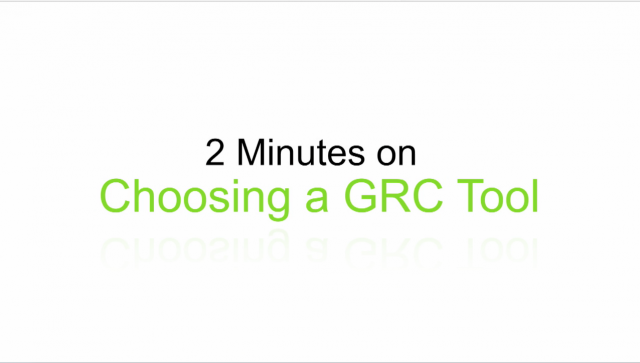 How do you choose an IT GRC tool?