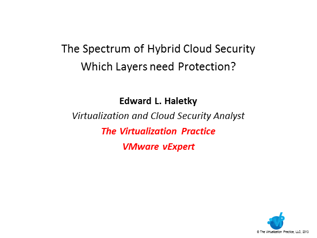 The Spectrum of Hybrid Cloud Security: Which Layers Need Protection?