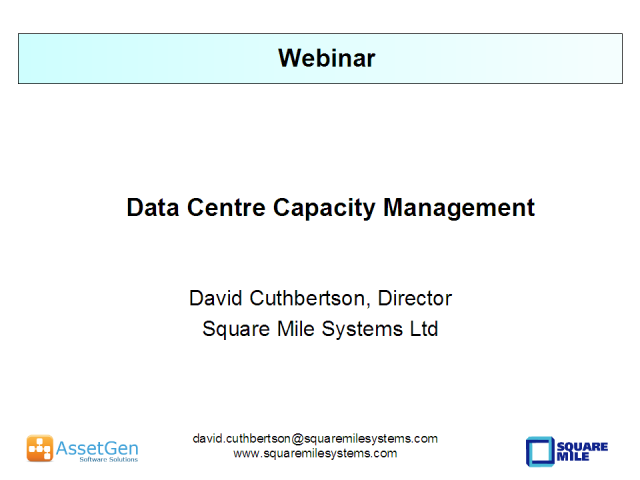 Data Center Capacity Management