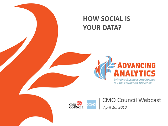 Advancing Analytics: How Social is Your Data?
