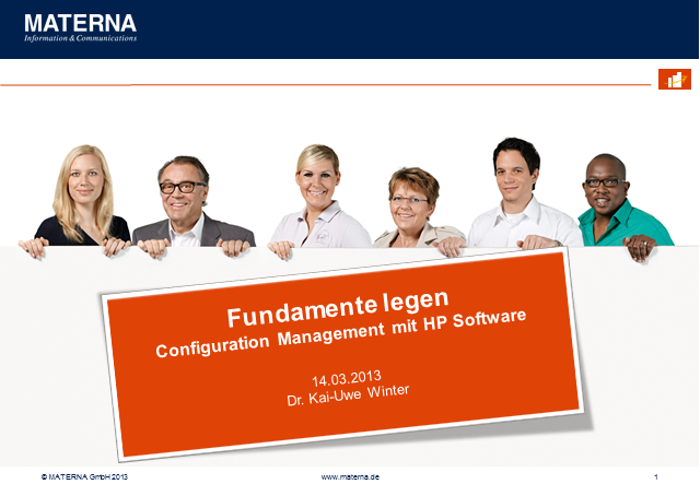 Fundamente legen - Configuration Management mit HP Software