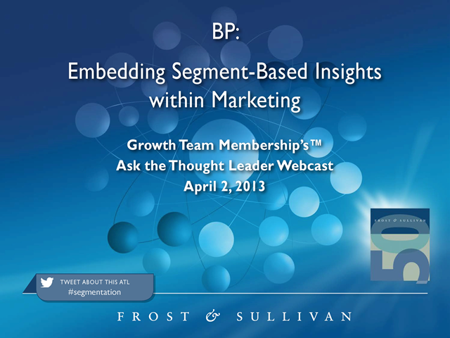 Embedding Segment-Based Insights within Marketing