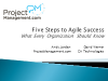 5 Steps to Agile Success – What Every Organization Should Know (1 PMI PDU)