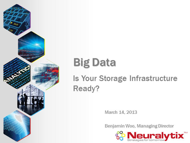 Big Data - Is Your Storage Infrastructure Ready?