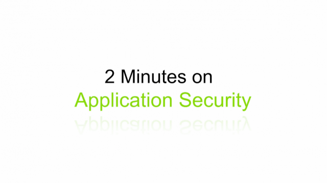 2 Minutes on BrightTALK: Can Simplicity Help Your Application Security?