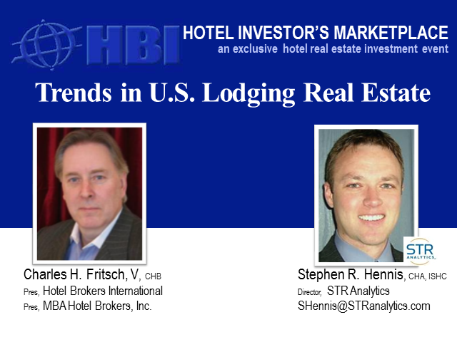 Trends in U.S. Lodging Real Estate