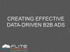 Creating Effective Data-Driven B2B Ads