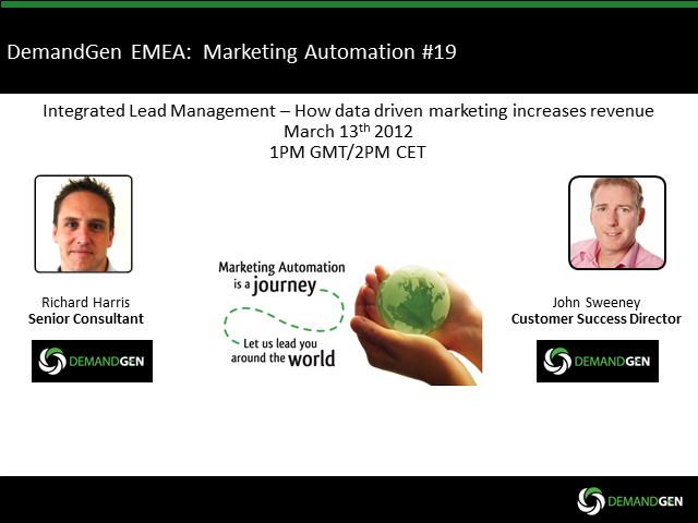 Integrated Lead Management – How Data Driven Marketing Increases Revenue