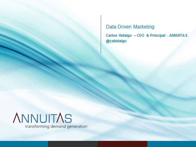 Data Driven Marketing – It is More than Numbers