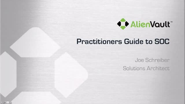 Practitioners Guide to a SOC