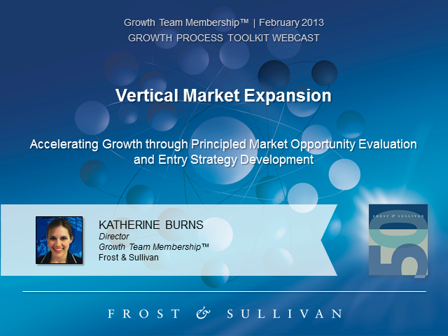 Vertical Market Expansion: Market Evaluation and Entry Strategy
