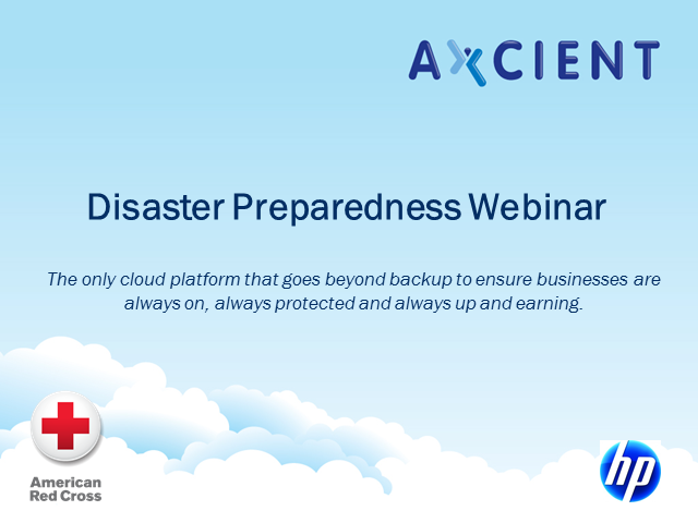 Are You Ready for Anything? Disaster Preparedness Webinar