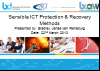 Sensible ICT Protection and Recovery Methods