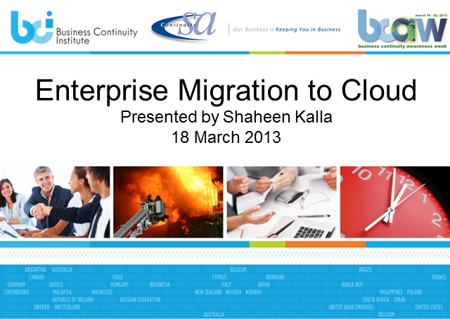 Enterprise migration and adoption of cloud