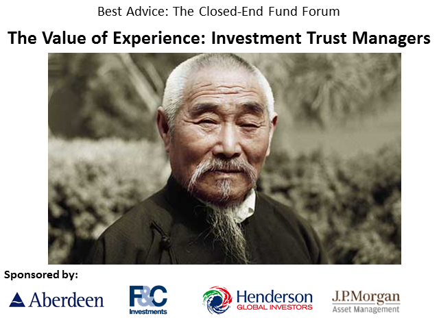 The Value of Experience: Investment Trust Managers