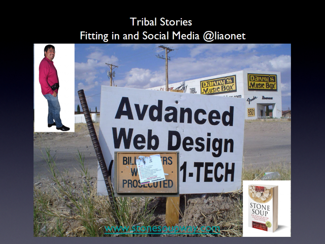 Tribal Stories - Fitting in and Social Media