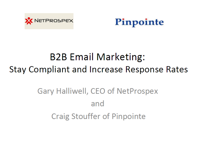 B2B Email Marketing: Stay Compliant and Increase Response Rates