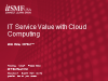 IT Service Value with Cloud Computing