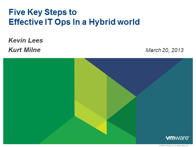 5 Key Steps to Effective IT Ops in a Hybrid World