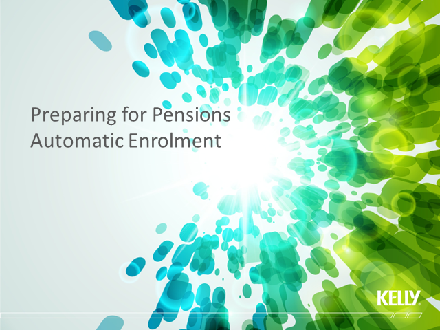 Preparing for Pensions Automatic Enrolment in the UK