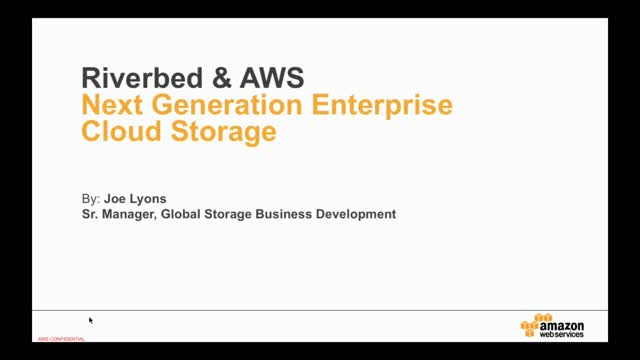 Amazon – Amazon Web Services, Amazon S3 and Glacier Overview