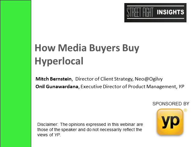 How Media Buyers Buy Hyperlocal
