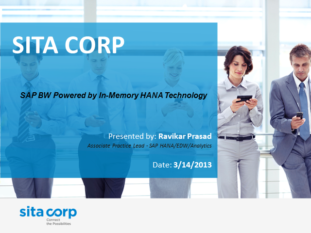 SAP BW Powered by In-Memory HANA Technology