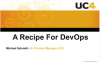 A Recipe for DevOps