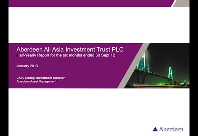 Aberdeen All Asia half yearly report