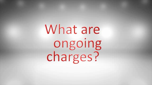 What are ongoing charges?