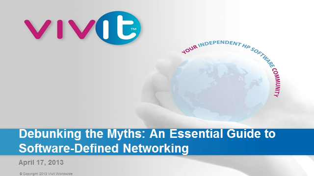 Debunking the Myths: An Essential Guide to Software-Defined Networking (SDN)