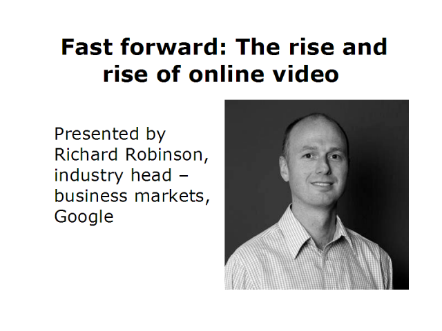 Fast forward: the rise and rise of online video
