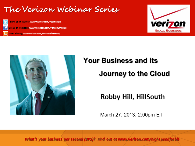 Your Business and its Journey to the Cloud