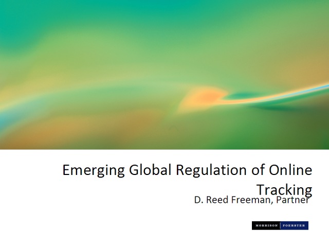 Emerging Global Regulation of Online Tracking