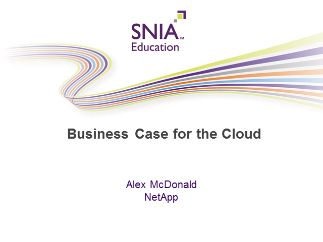 The Business Case for Cloud