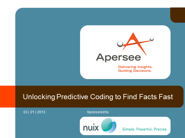 Unlocking Predictive Coding to Find Facts Fast