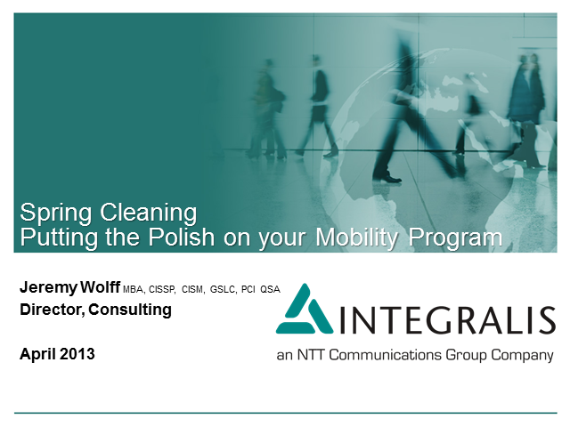 Spring Cleaning: Putting the Polish on Your Mobility Program