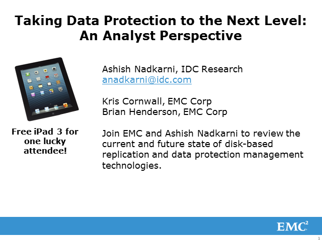 Taking Data Protection to the Next Level: Analyst Insights and Sneak Peek Demo
