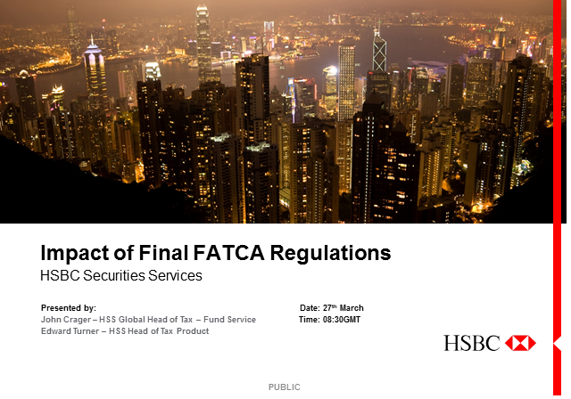 Impact of final FATCA regulations
