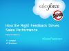 How the Right Feedback Drives Sales Performance