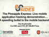 The Pineapple Express: Live mobile application hacking demonstration