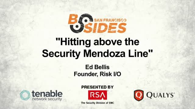 Hitting above the Security Mendoza Line
