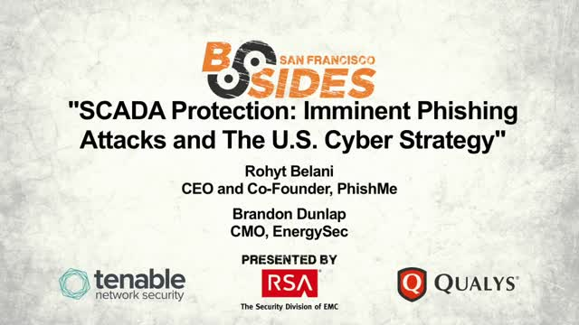 SCADA Protection: Imminent Phishing Attacks and the US Cyber Strategy