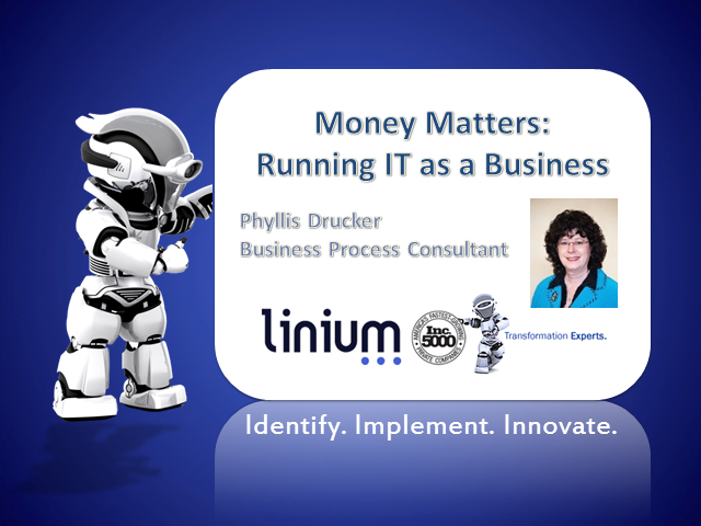 Money Matters - Running IT as a Business