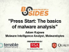Press Start: the Basics of Malware Analysis