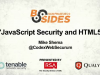 JavaScript Security and HTML5