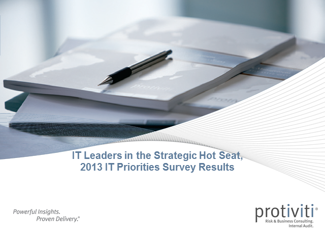 IT Leaders in the Strategic Hot Seat