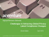 Challenges in Achieving Global Privacy: Latest Compliance Changes